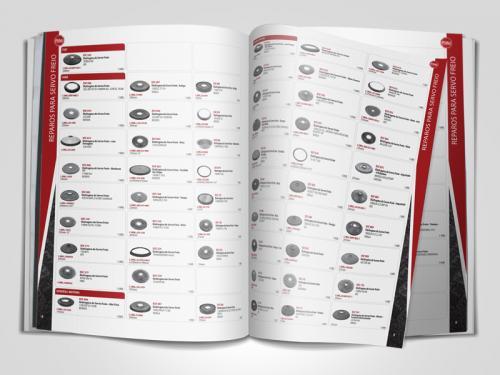 Catalogo para Autopeças Design gráfico