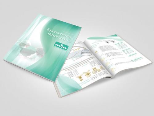 Criação de catálogo técnico para equipamentos hospitalares