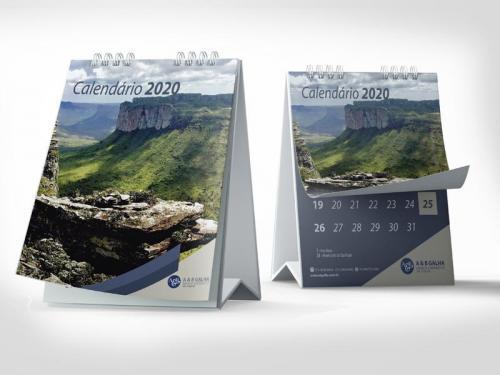 Criação de Calendário Personalizado para Empresas